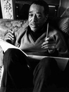 Duke Ellington, Jan. 1963. Victor Drees