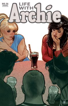 Life with Archie N°36 - Cover by Adam Hughes