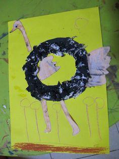 The 2Balqis: Letter Craft - O Ostrich, C Caterpillar, G Guitar, D Dinosaur