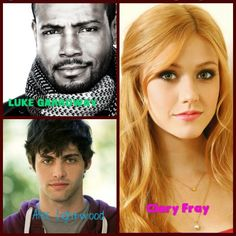 Luke,Alec and Clary. Shadowhunters TV Show