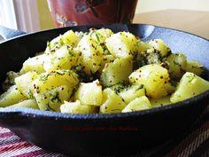 Tous les goûts sont chez Barbara: Bhaji de pommes de terre à l'aneth (shepu bhaji)