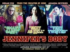 Jennifer's Body Movie Poster ( of Adam Brody, Jennifer's Body, Amanda Seyfried, Body Movie, See Movie, Ex Boyfriend, Movies And Tv Shows, The Creator, Movie Posters
