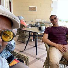 "Daily Show Fan✌🏽 on Instagram: ""Good morning 🌞 • • • #trevornoah #thedailyshowwithtrevornoah #southafrica #capetown"" Trevor Noah, Tennis Match, Cape Town, Round Sunglasses, Fan, Instagram, Fans, Computer Fan"