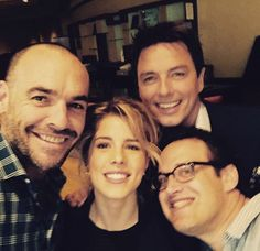 Captain Lance, Felicity and Malcolm