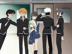 This is one of my favorite scenes from Fruits Basket. :) i laugh so hard every time- the first 2 minutes!!!