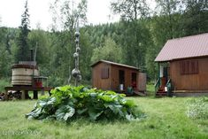 Listing #18-19789, Price: $160,000, Address: Tr A-B No Road Talkeetna, Beds: 2, Baths: 1, Residential SqFt: 850 Alaskan Cabins, Snow Machine, Large Sheds, House Information, Guest Cabin, Vacant Land, Jon Boat, Property Search, Acre