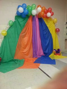 Candyland photo booth