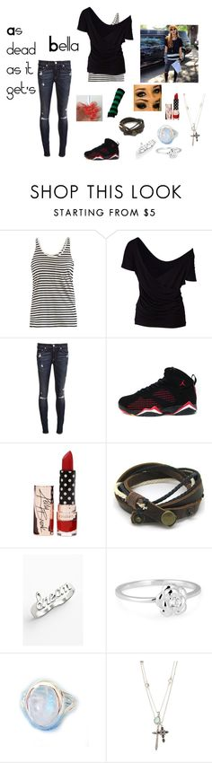 """""""As dead as it get's (Bella-Steal the Look)"""" by caseycarlyle ❤ liked on Polyvore featuring AR SRPLS, Sud Express, rag & bone, Jessica Simpson, Simply Silver, Lucky Brand and GetTheLook"""