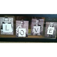 Mother's day idea or (MOM instead of LOVE?)