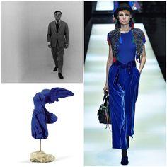 #poramaisb - O bleu de Yves Klein: Uma celebração ao artista francês nos 89 anos de seu nascimento; o azul ultramarino, criado por ele, inspira a moda e o design, coluna Oh! Vivre!!
