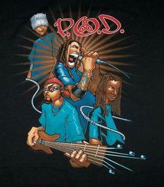 P.O.D. Nu Metal, People Art, 2000s, Old School, Rock, Movie Posters, Bands, Musica, Skirt