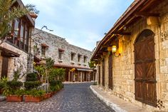 The old streets of Zouk Mikael الشوارع القديمة ب زوق مكايل By Nabiha Radwan Hajaig  #Lebanon #WeAreLebanon