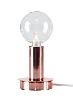 Ellos Home Bordslampa Trix i färgerna Koppar inom Hem - Ellos.se