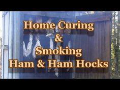 Homemade Smoked Ham Hocks Recipe - YouTube