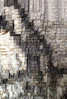 nathalie boutté | Natives 2014 Papier japonnais, encre 100 x 140 cm Collection privée