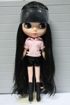Cute Blyth Doll nude DIY doll black bangs long hair fashion dolls gift for girls