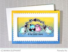 mama elephant | design blog: STAMP HIGHLIGHTS: OH HAPPY BIRDS