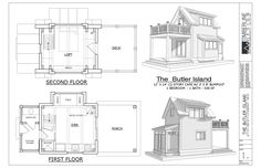 Check out this beautiful Tiny House!! Plan name: The Butler Island