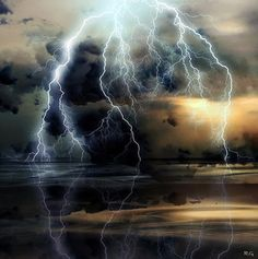 . All Nature, Science And Nature, Amazing Nature, Tornados, Thunderstorms, Thunderstorm Clouds, Beautiful Sky, Beautiful World, Simply Beautiful