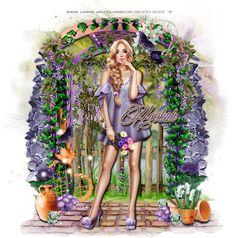 Ria's PSP Paradise: Beautiful Day - CT PTU Tut - Secret Garden by Jackie's Jewels