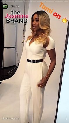 """New """"Basketball Wives LA"""" Shoot: Tami Roman, Jackie Christie, Shaunie O'Neal & Malaysia Pargo - theJasmineBRAND :: theJasmineBRAND Basketball Wives La, Roman, Fashion Accessories, Jumpsuit, Beauty, Dresses, Style, Catsuit, Gowns"""