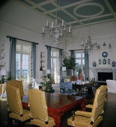 Babe Paley's home in Lyford Cay