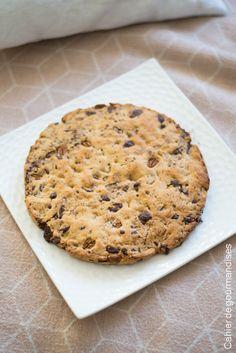 Cookie géant chocolat et noix de pécan