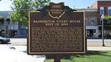 Washington Court House, Ohio - Wikipedia, the free encyclopedia