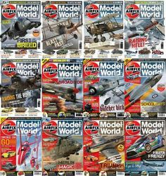 Airfix Model World Magazine 2012-2013 Full Collection English | 24 Issues | True PDF | 783MB