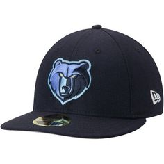1325b7aee70 Memphis Grizzlies New Era Official Team Color Low Profile 59FIFTY Fitted  Hat - Navy