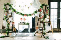 pretty wedding ceremony; photo: A Brit & A Blonde.