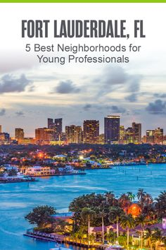 Considering moving to Fort Lauderdale? The Venice of America is a fun place to live for singles and young professionals, thanks to its incredible outdoor recreation, beach access, and affordable housing options. Here are the five best neighborhoods in Fort Lauderdale for young adults! Florida Vacation, Florida Travel, Travel Usa, Fort Lauderdale Beach, Road Trip Adventure, Us Travel Destinations, Best Travel Guides, Road Trip Usa, Cool Places To Visit