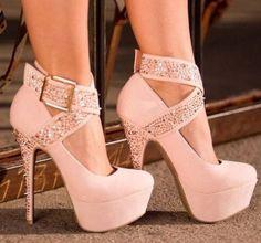 Pretty Pink Heels
