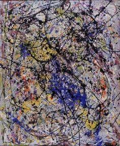 Jackson Pollock - Reflection of the Big Dipper - Stedelijk Museum Amsterdam - 1947