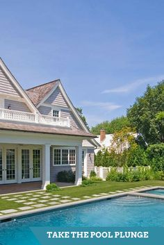 Add value and recreation to your home with a pool or spa.