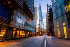 The Path to the Shard London England - The Path to the Shard London England