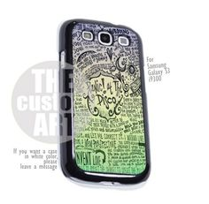Panic at The Disco Lyric - For Samsung Galaxy S3 i9300 | TheCustomArt - Accessories on ArtFire