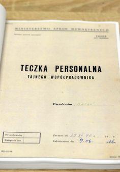 """IPN udostępnił teczki TW """"Bolka"""". Zobacz! - Wiadomości"""