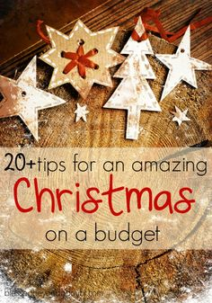 Is it actually possible to create Christmas budget and stay within it? Absolutely! You can stay within even the smallest Christmas budget and enjoy the holiday and all that it stands for. Here are more than 20 tips for having an amazing Christmas on a small budget.