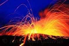 volcano lava kilauea hawaii cj kale