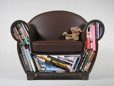 Creative storage furniture design makes small rooms look unique and interesting