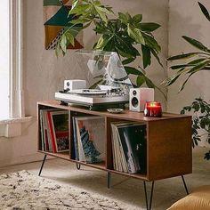 DIY Bookshelf turned Vinyl Setup - Best Speakers for Turntable, Audioengine.