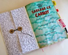 Wood And Fabric: Saccage ce carnet