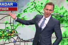 Tom Hiddleston Reported The Local Weather As Loki And It Was Perfect