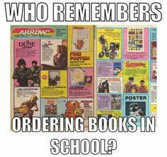 Nostalgic pic of a book catalog Childhood Memories 90s, 1980s Childhood, School Memories, Pinned Up, Vintage Magazine, Historia Universal, Photo Vintage, 90s Nostalgia, I Remember When