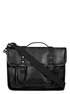 TED BAKER Oiled look smart despatch bag