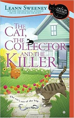 #Review / #Giveaway - The Cat, The Collector and the Killer by Leann Sweeney @penguincozies