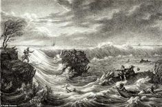 Storm Francis uncovers more of the mythical 'Sunken Kingdom' of Wales | Daily Mail Online