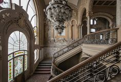 """Crumbling Casino the crown jewel of Romania's """"Monte Carlo""""  """"messynessy' site does a beautiful job on many historical places....some which have been restored."""