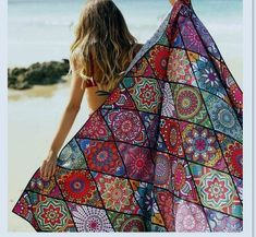 Beach Time Assessories – wanaabeehere Extra Large Beach Towels, Garden Posts, Beach Blanket, Beachwear, Bohemian, This Or That Questions, Stylish, How To Wear, Collection